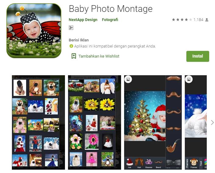 Aplikasi Edit Foto Bayi Online : Edit Foto Bayi Ucapan ...